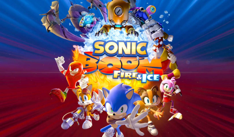 sonic boom fire ice title