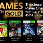 Desvelados los Games With Gold del mes de Mayo
